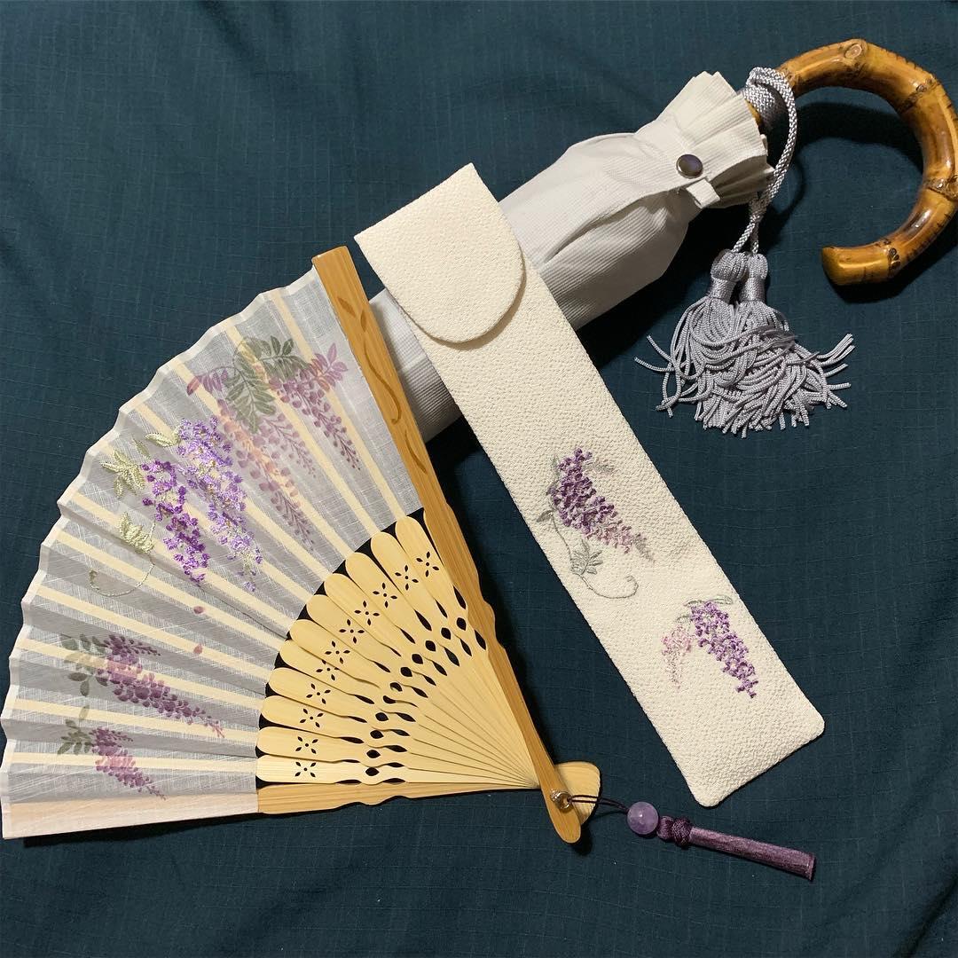ワカオの上品な折りたたみ傘