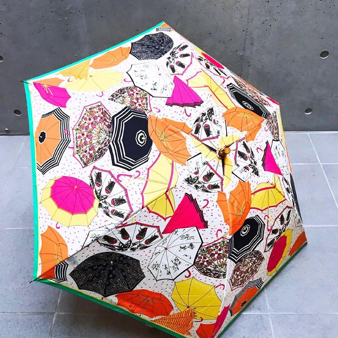 柄が可愛いmanipuriの傘