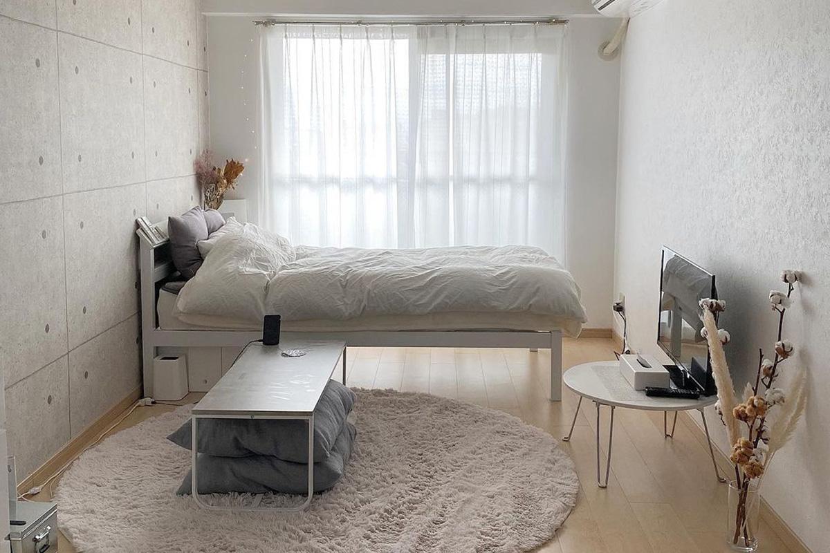 《ワンルームも広く見える》狭い部屋でも広々快適に暮らす8つの方法