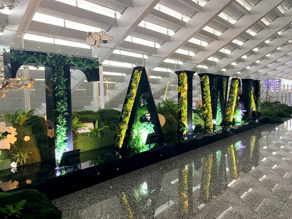 【2019年10月台湾女2人旅②】果物で水分補給できる幸せ。『桃園国際空港』フードコートでモリモリ…