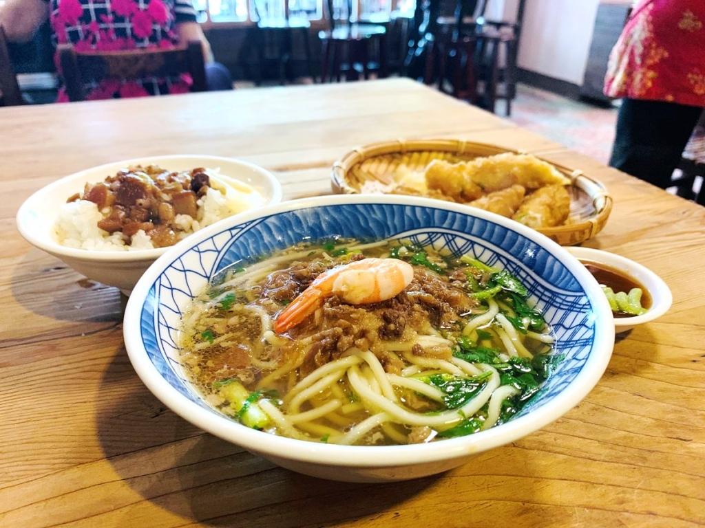 【2019年4月台湾1人旅㉘】台南名物料理が一度に食べられて便利な人気店!台南『赤嵌担仔麺』。