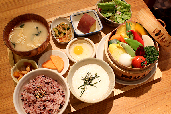 4-蒸し野菜ランチ