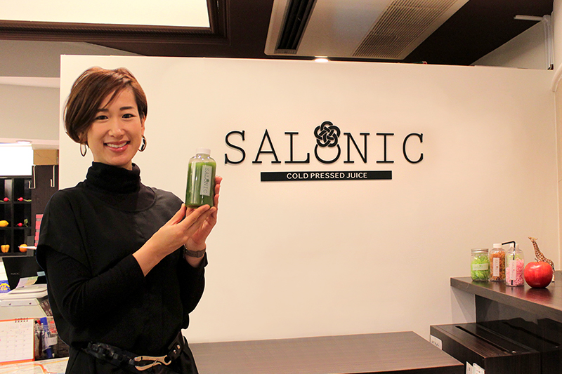 『SALONIC』マネージャーの井上清乃さん