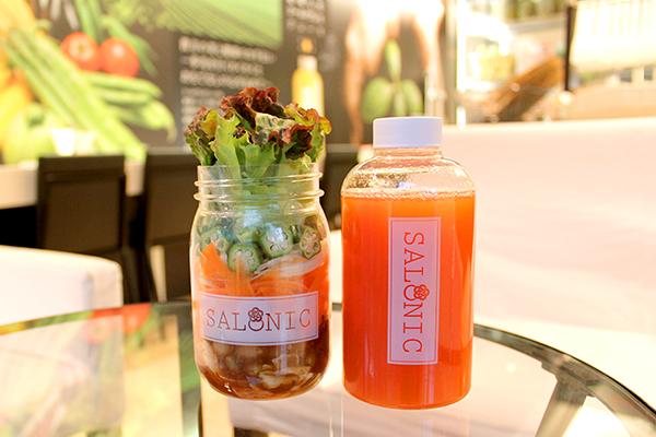 大阪・堂島のコールドプレスジュース専門店『SALONIC(サロニック)』で、野菜の栄養をまるごと摂…