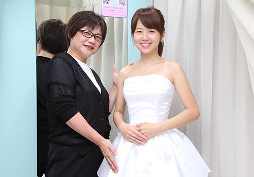 補正下着メーカーのブライダルインナーショップ『UP'S UMEDA』で、誰もが見惚れる花嫁の美ボディラインが叶う!