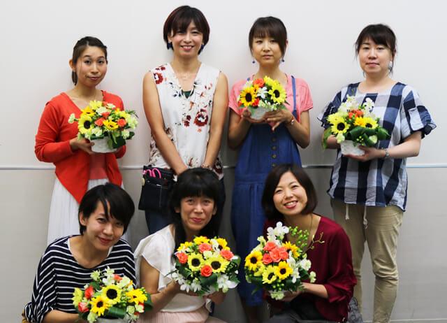 「★プレゼント付き★生花フラワーアレンジメント体験レッスン」開催!