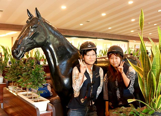 「大人の遠足気分で1日乗馬体験!」開催♪