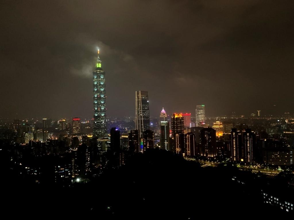【2019年10月台湾女2人旅⑩】運動不足の老体にはハードだけど眺めは感動もん。台北『象山』に登っ…