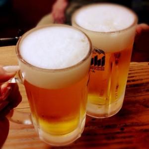 超暑かったこともあり、ビールがうまいうまい!