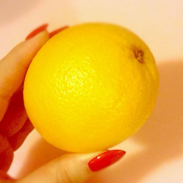 昨日はオレンジ。
