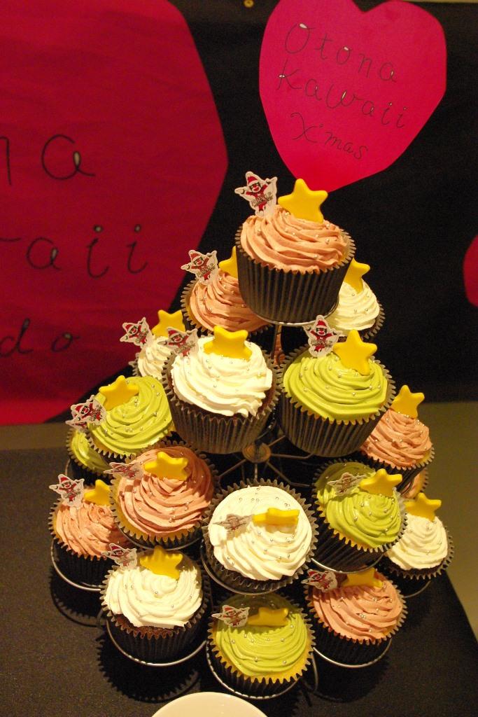 11/11(火)新発売の『ミスタードーナツ』クリスマス限定「N.Y.カップケーキ」で、ひと足お先に…