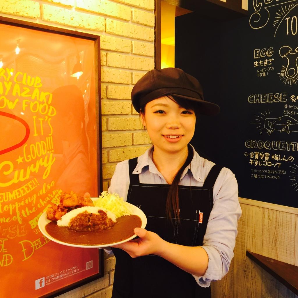 2/22、『カレー倶楽部ルウ 守口店』オープン。関西初上陸の宮崎県名物「チキン南蛮カレー」を食べて…