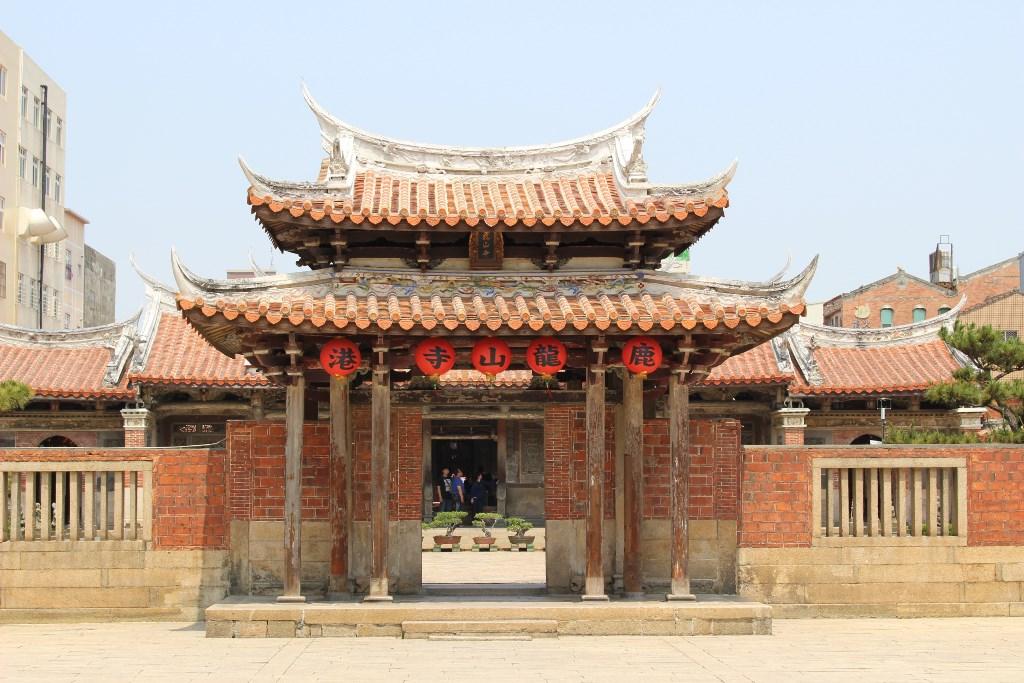 龍山寺 山門1