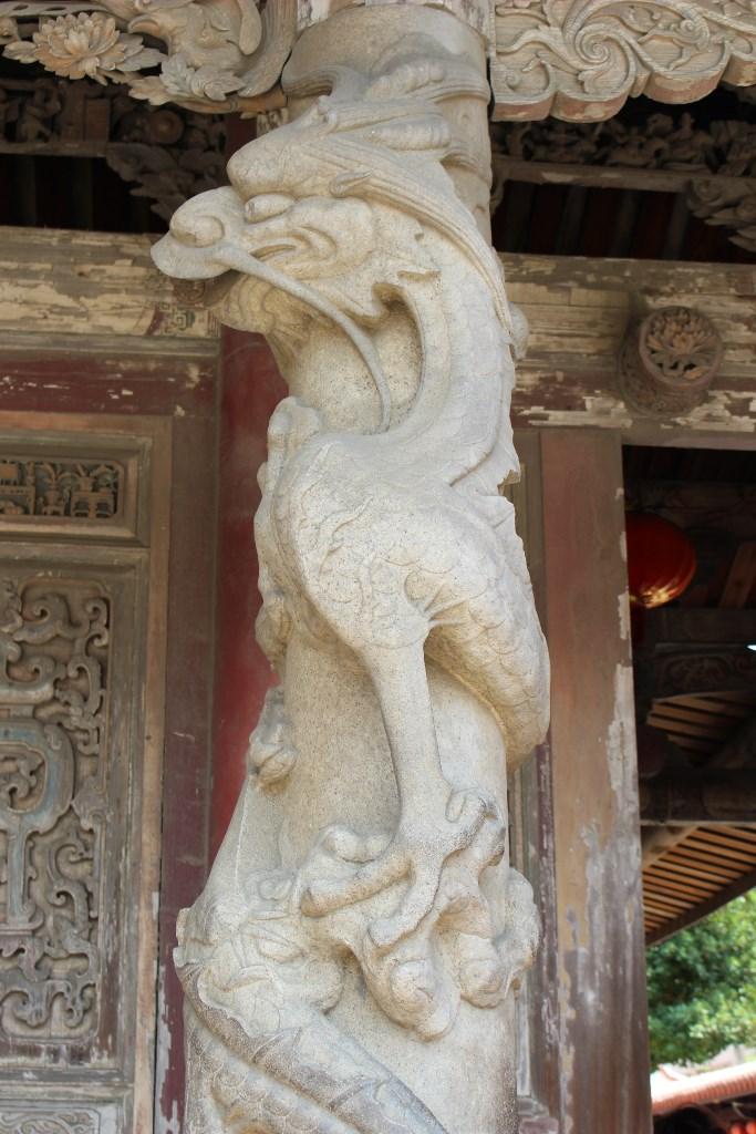 龍山寺 柱
