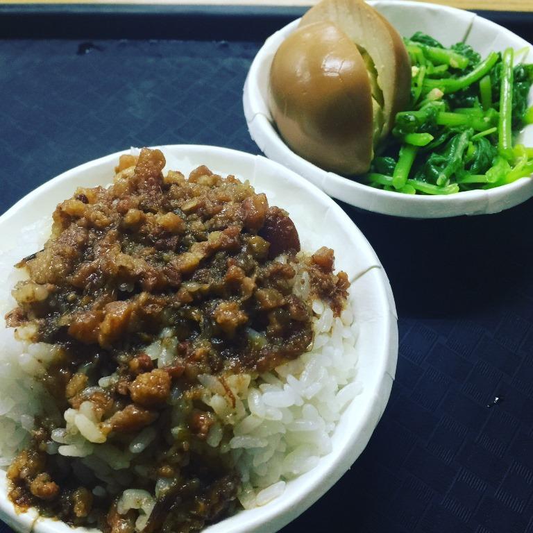 【2017GW台湾1人旅】出会ってしまったかもしれない、私的ベストオブ魯肉飯!台北『満庭香魯肉飯』。