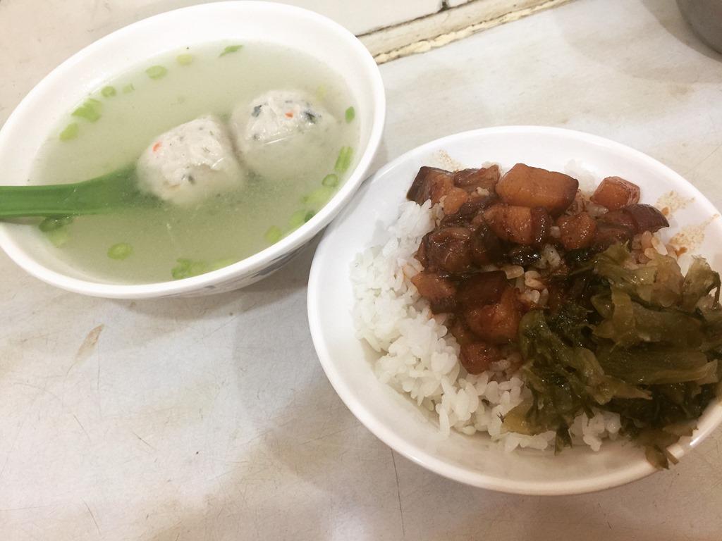 【2017GW台湾1人旅】台湾人の読者さんが教えてくれた魯肉飯のウマイ店!台北『香満園』。