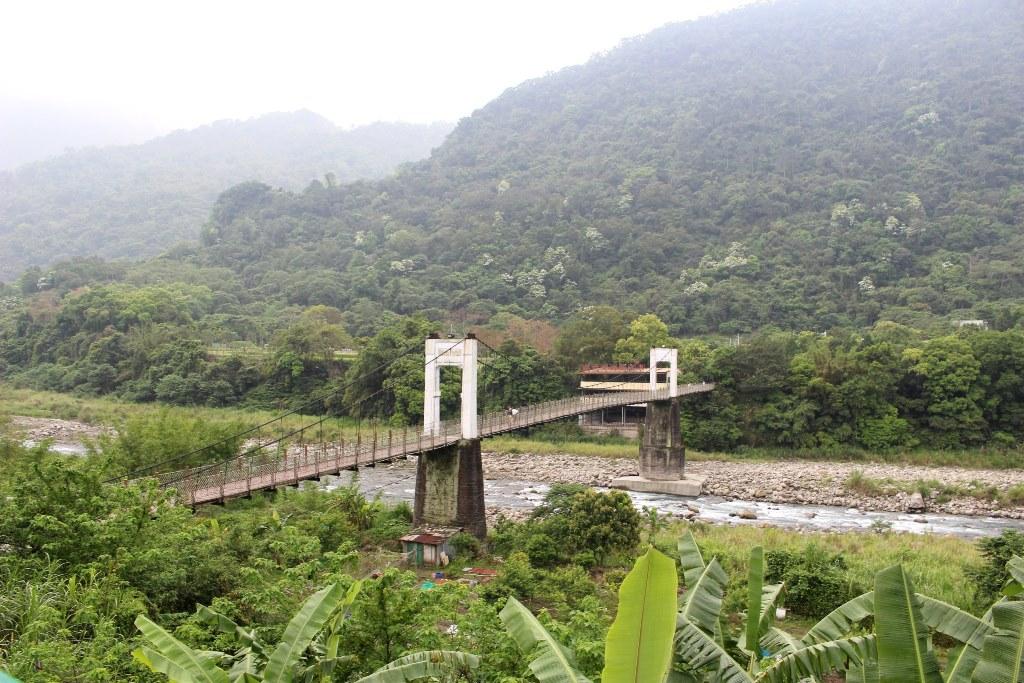 【2017GW台湾1人旅】時間がゆっくり流れる内灣で、豊かな緑に癒される。