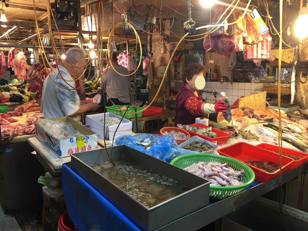 【2017GW台湾1人旅】珍しい食材に大興奮!『康樂市場』&『台北新生假日農市』。