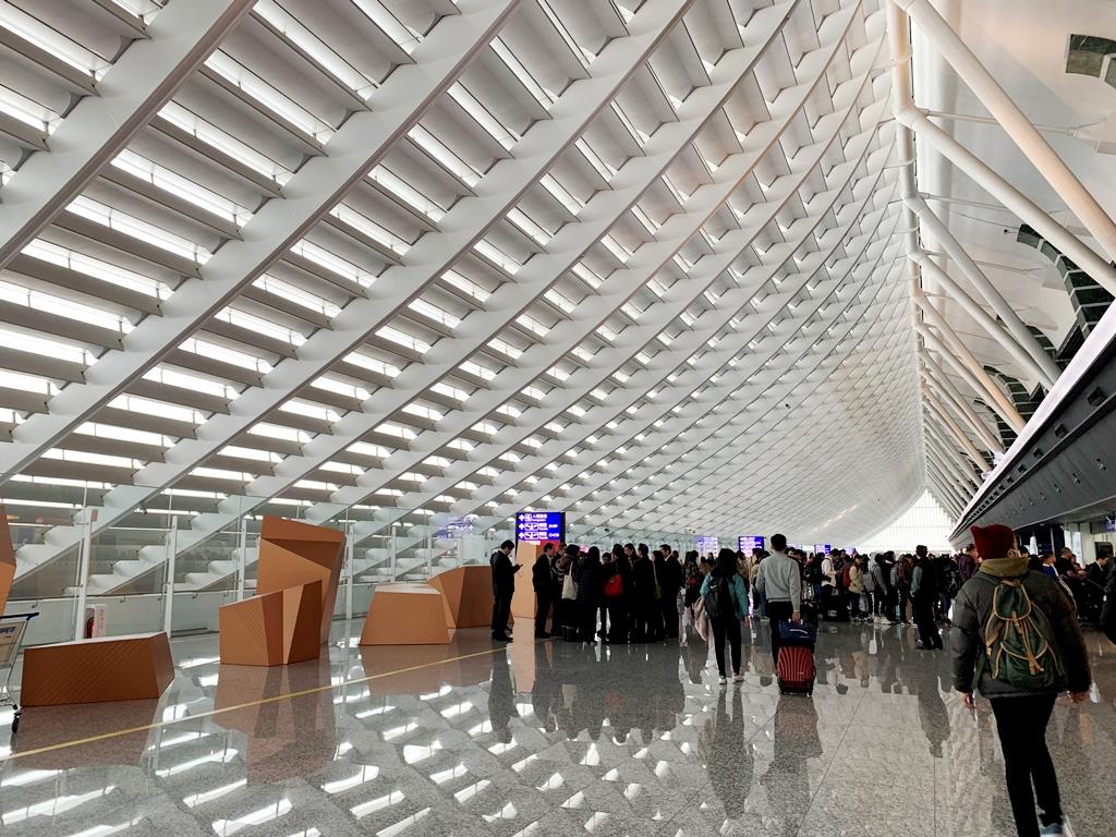 【2019年1月台湾1人旅③】桃園国際空港で「常客証」ゲットを心に誓う。