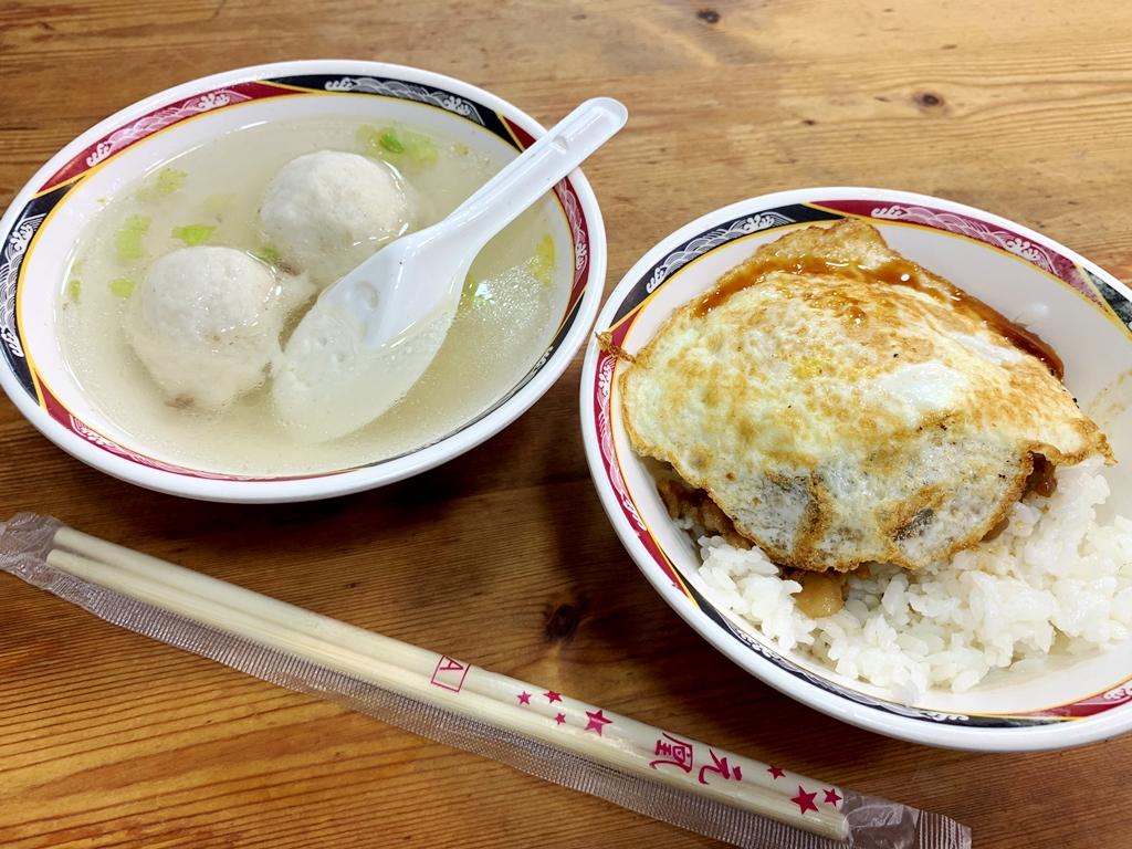 【2019年1月台湾1人旅⑯】台湾読者推薦『天天利』(西門駅)の魯肉飯で遅めの朝ごはん。