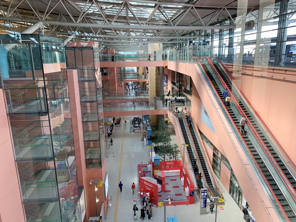 【2019年4月台湾1人旅①】『関西国際空港』第1ターミナルは、行くたびに新鮮。