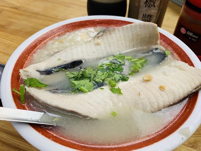 【2019年4月台湾1人旅⑱】台南『阿憨鹹粥』で食べた人生初のサバヒー粥は、優しくてあったかくて泣ける味。