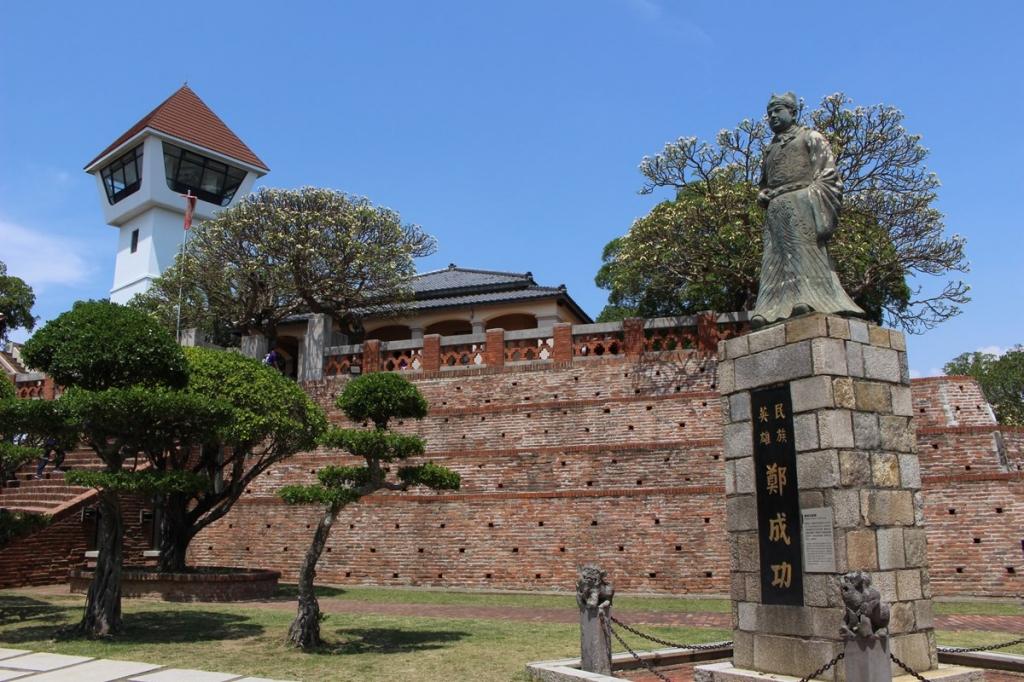 【2019年4月台湾1人旅㉒】台湾最古のお城と言われる『安平古堡』。展望台から台南の街を一望。