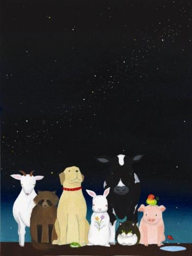 「同じ星を見た夜」 作:うさ氏