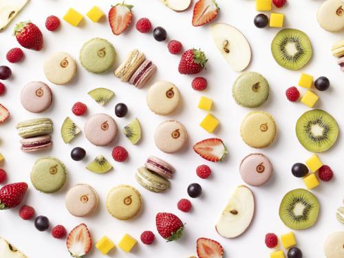 フルーツマカロン「ま果ろん」1