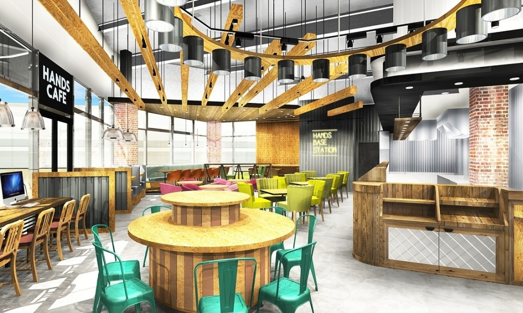 4/27(月)、関西2店舗目となる『ハンズカフェ』が森ノ宮の新スポット『もりのみやキューズモールB…