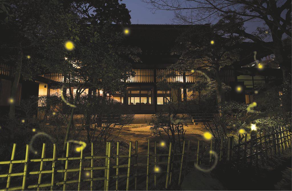 『太閤園』で、ほたるの優しい光に癒される夜を。「~Healing Nights ほたる物語~」