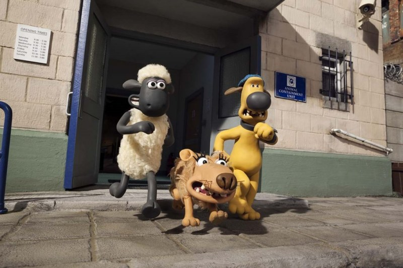 (C)2014 Aardman Animations Limited and Studiocanal S.A. A Studiocanal release