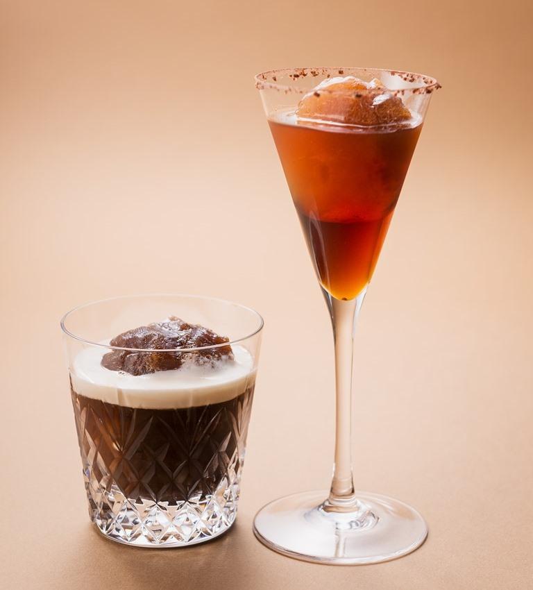 紅茶・コーヒーをそのまま凍らせた美味しい氷で作る、『ホテル阪急インターナショナル』の夏季限定カクテ…