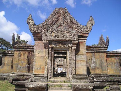 カンボジア・プレアヴィヒア遺跡