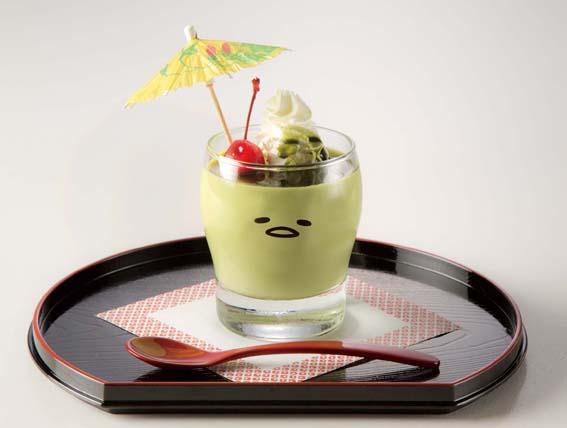 「ぐで抹茶プリン」(648円)