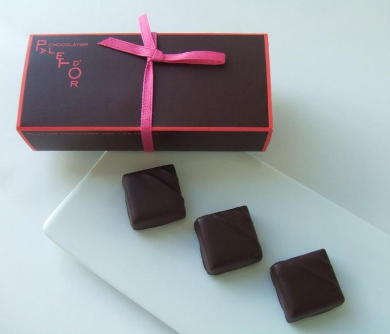 『ショコラティエ パレ ド オール』のショコラ詰め合わせ