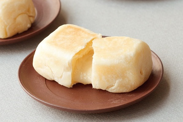 「飴餡の焼き餅」