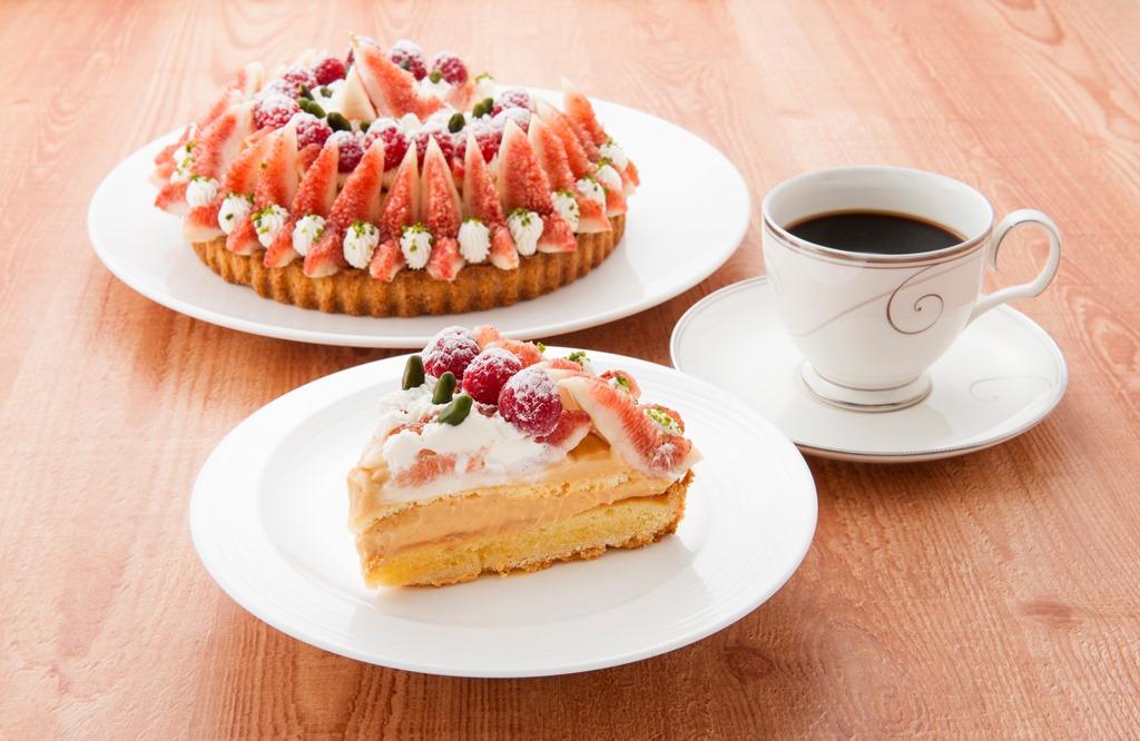 実りの秋、到来♪ 『ホテルグランヴィア大阪』に、無花果(いちじく)のプレミアムタルト、ショートケーキ、シフォンケーキが登場