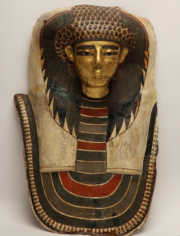 《王妃のマスク》  新王国・第18王朝時代(前1550~前1292年頃)  マンチェスター博物館蔵 (C) Manchester Museum, The University of Manchester