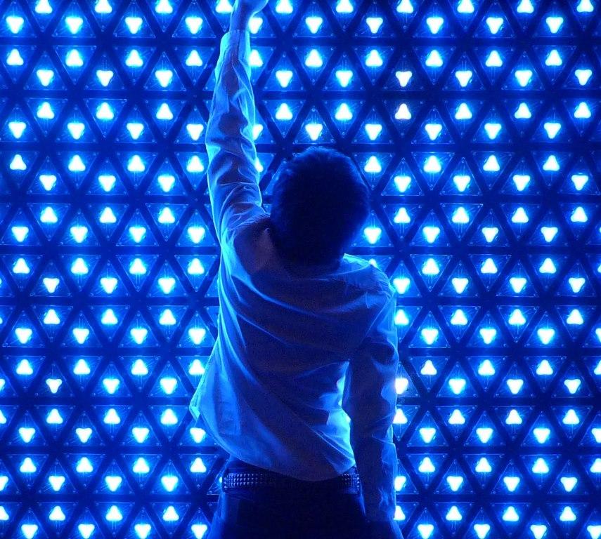 「光のワンダーランド 魔法の美術館」(大阪『あべのハルカス美術館』)