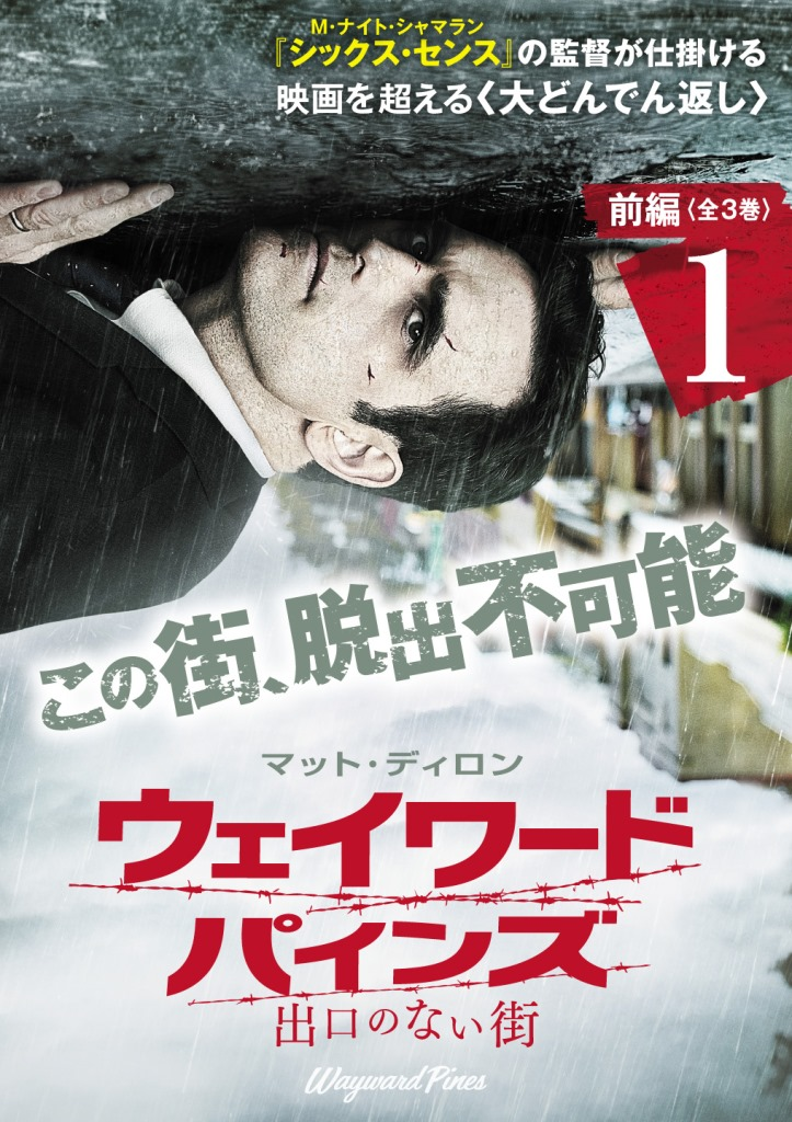 生還可能性ゼロ……。映画を超える脱出ミステリー『ウェイワード・パインズ 出口のない街』、12/2(水)DVDリリース!