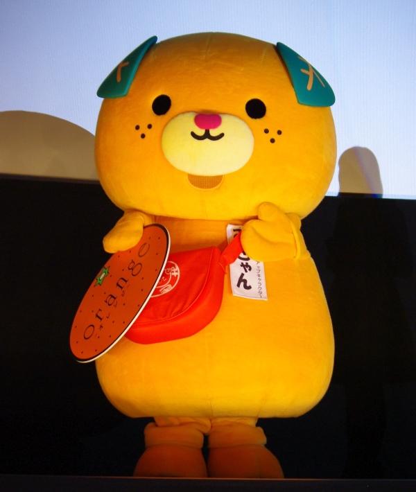 映画『オレンジ』大阪舞台挨拶 みきゃん
