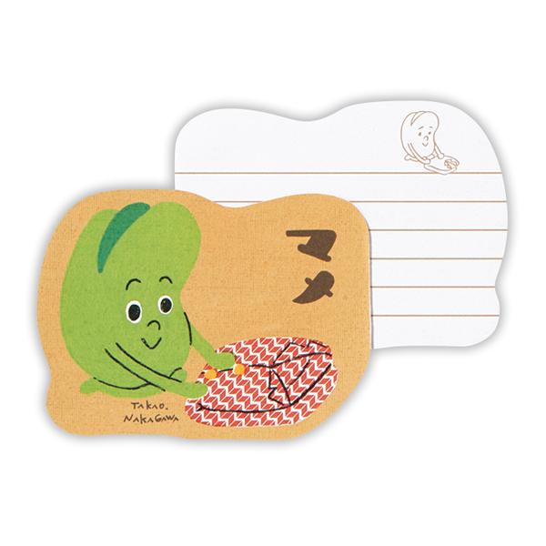 「ダイカットメモ」(378円)