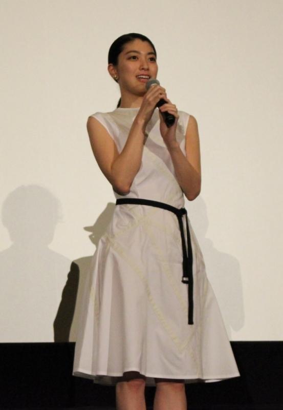 【PrettyOnline】『無伴奏』大阪舞台挨拶 成海璃子さん