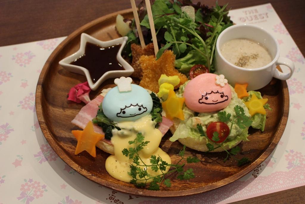"""大阪に""""キキララカフェ""""がやってきた!! 各地で連日4時間待ちとなった『キキ&ララカフェ』が4/28(木)より期間限定登場"""