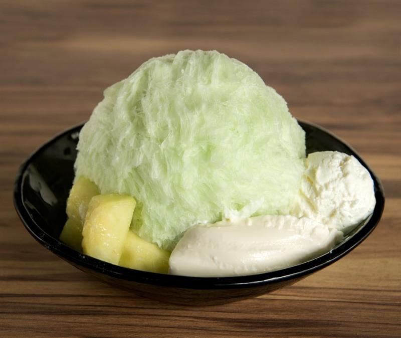 「メロンかき氷」(1400円) ※限定個数/なくなり次第終了