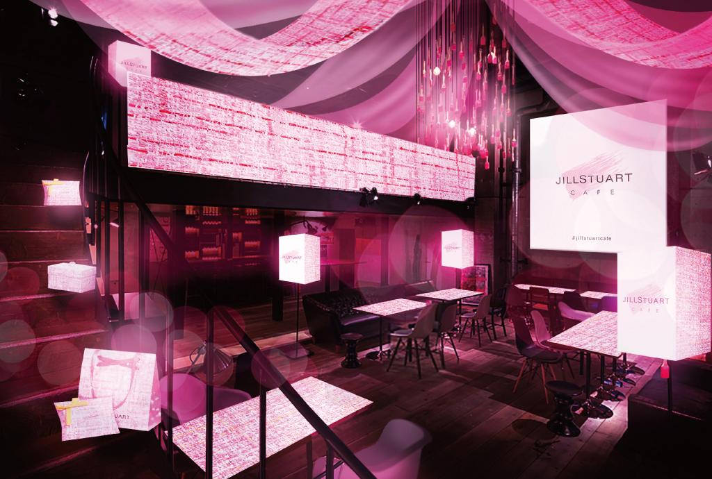 『JILL STUART』の世界観に浸るひと時。大阪・心斎橋に『JILL STUART CAFE』…
