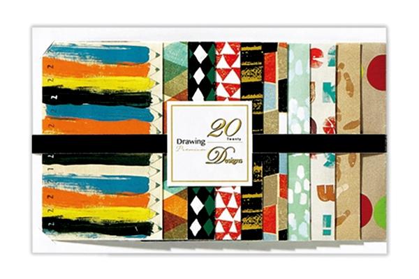20柄すべてデザインが違う!話題の「20 Designs」シリーズに新柄&新アイテム登場