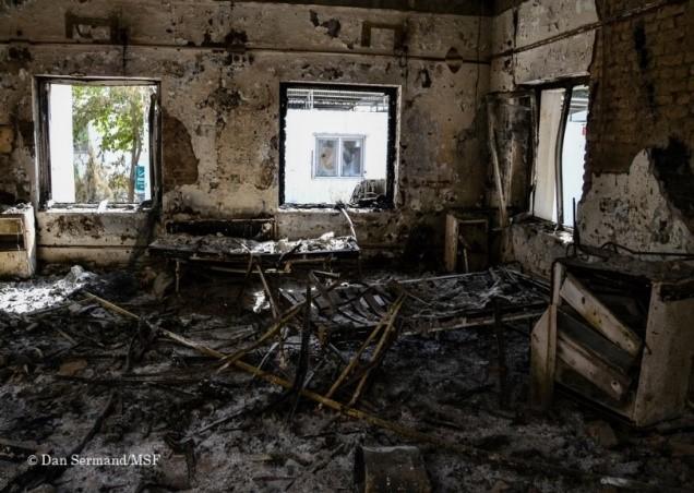 """病院攻撃の実態を伝える写真展「国境なき医師団""""紛争地のいま""""展」"""