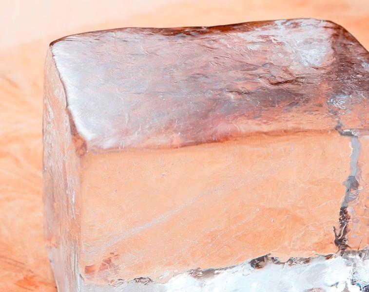 日光 松月氷室の天然氷